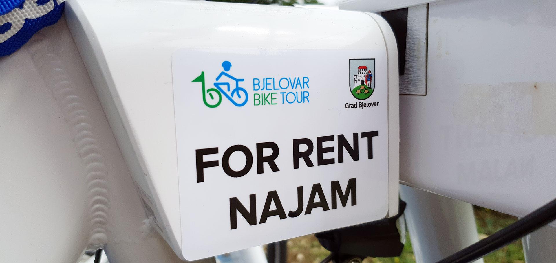 Bjelovarčanima dostupni e-bicikli za iznajmljivanje