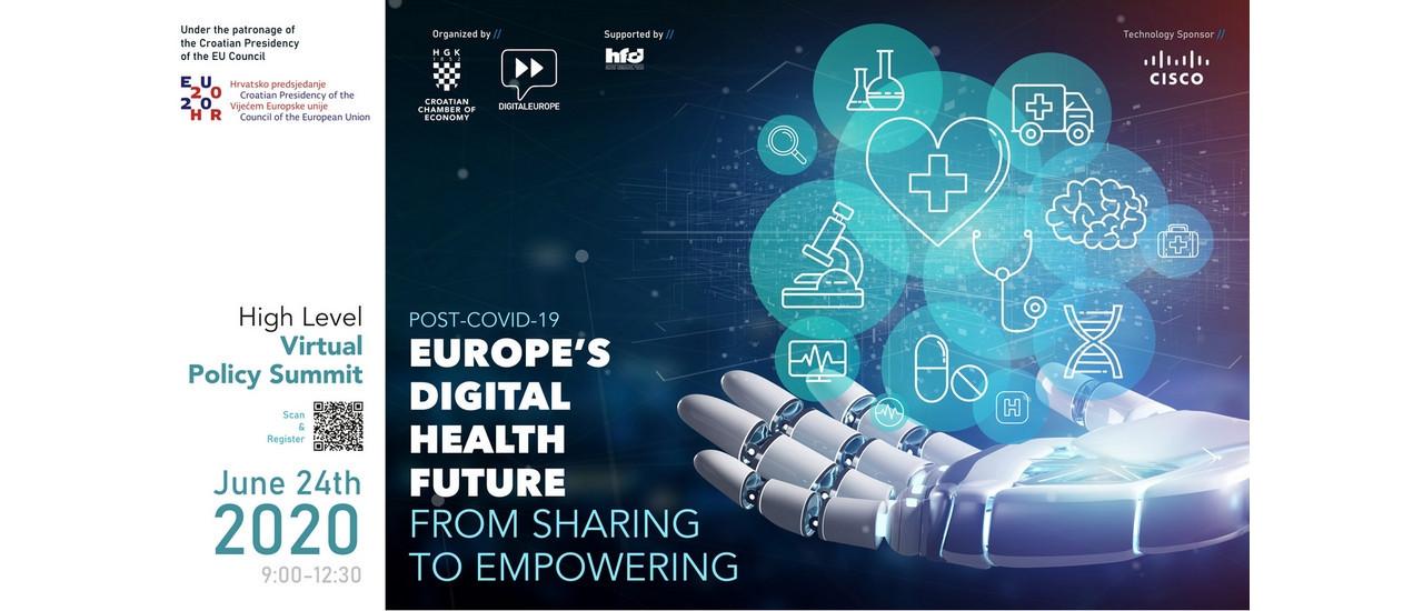 Pozivamo vas na konferenciju Budućnost digitalnog zdravstva u Europi