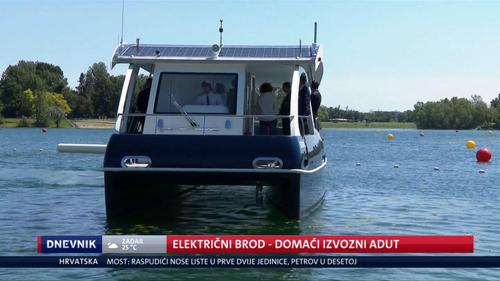Ovaj potpuno hrvatski električni brod oduševio predsjednika Milanovića