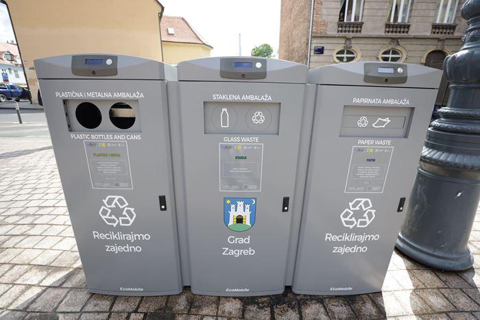 U Zagrebu predstavljeni beskontaktni pametni spremnici za upravljanje otpadom