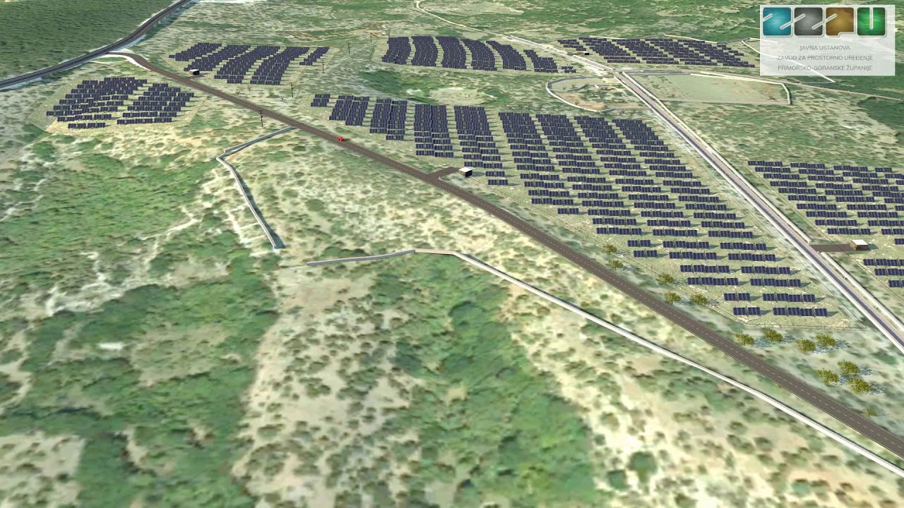 Na Cresu započela gradnja najveće hrvatske sunčane elektrane