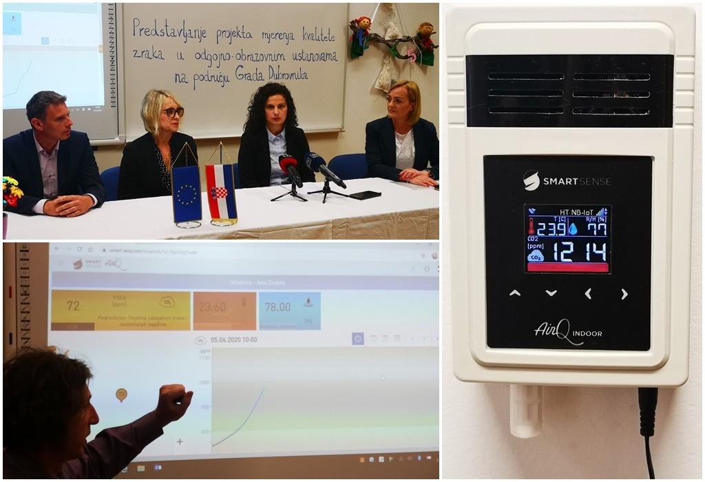 U Dubrovniku senzori mjere kvalitetu zraka u vrtićima i školama