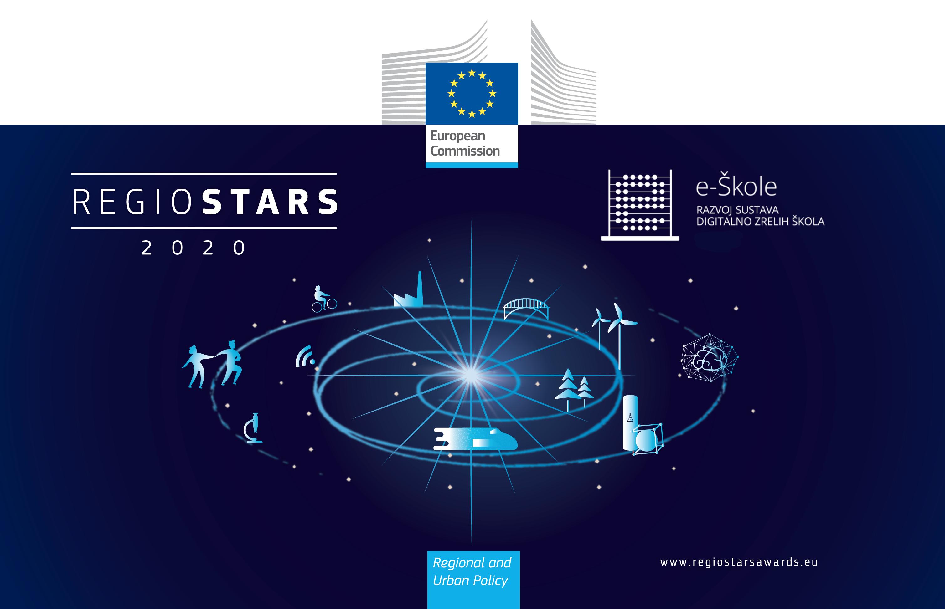 CARNET-ov projekt e-Škole u finalu natjecanja za nagradu Europske komisije – RegioStars