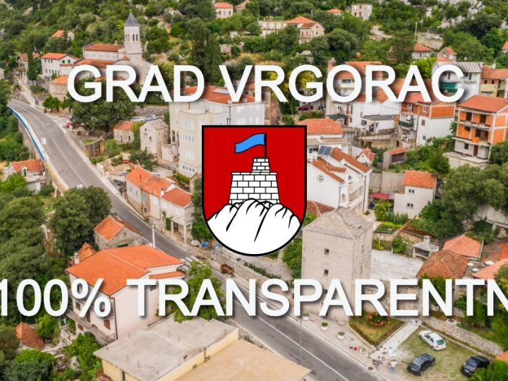 Otvoreni i transparentni grad Vrgorac