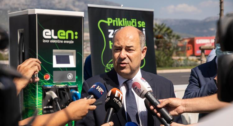 U Splitu puštena u rad 200. ELEN punionica za električna vozila