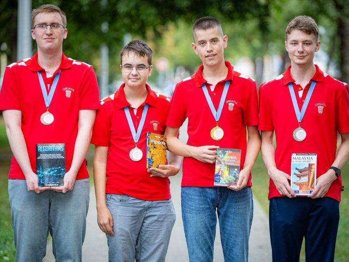 Zlato, dva srebra i bronca za naše izvrsne mlade informatičare!