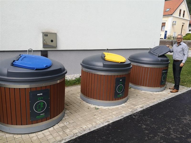 U Krapinskim Toplicama ugrađuju polupodzemne spremnike i nabavili su 105 kontejnera