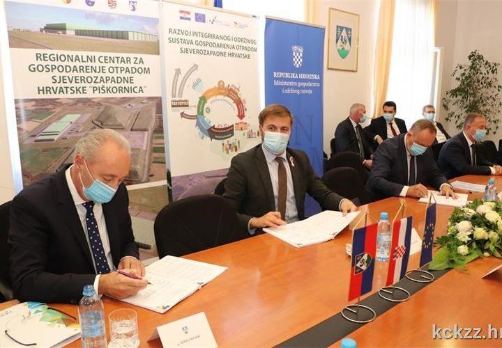 Za izgradnju RGCO-a Piškornica 313,7 milijuna kuna bespovratnih EU sredstava