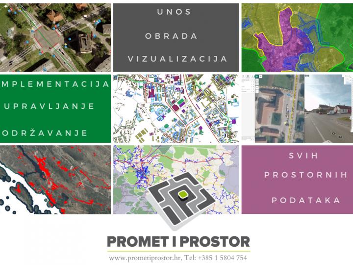 PROMET I PROSTOR d.o.o. : webGIS Aplikacijski sustav (pipGIS®)  – Vizualizacija i upravljanje prostornim podacima