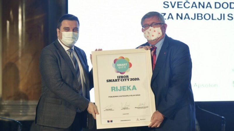 Grad Rijeka najbolji u Hrvatskoj u kategoriji Smart City