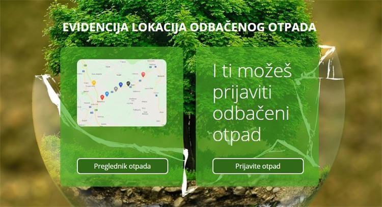 Sustav evidencije lokacija odbačenog otpada ELOO putem web i mobilne aplikacije