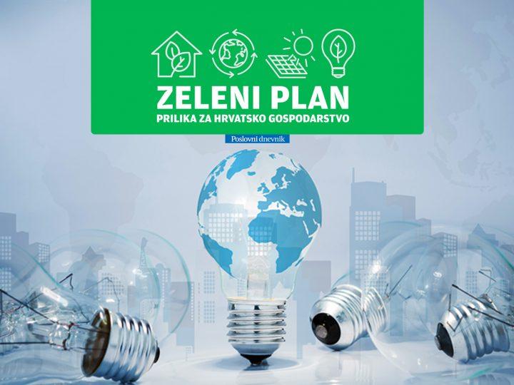 Zeleni plan veliki je iskorak u energetskoj transformaciji gospodarstva