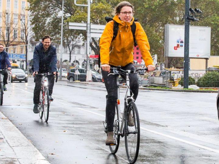 Sve više biciklista u Beču