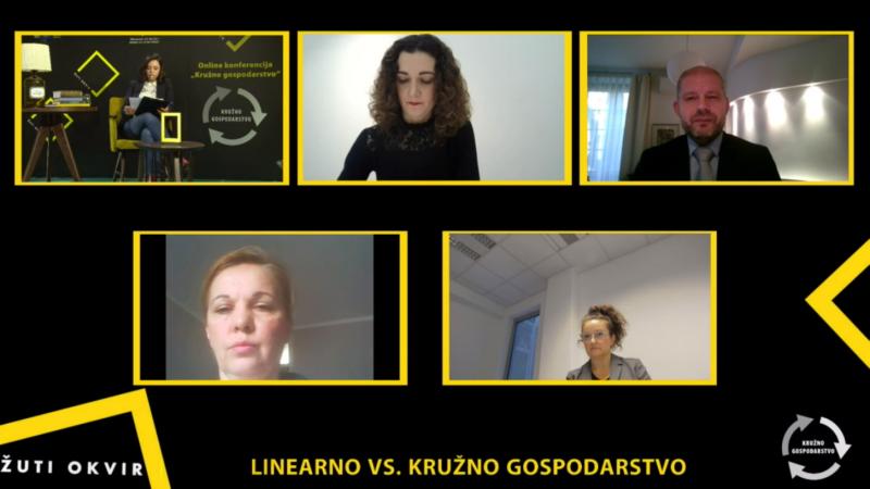 Online konferencija o kružnom gospodarstvu – Panel 1