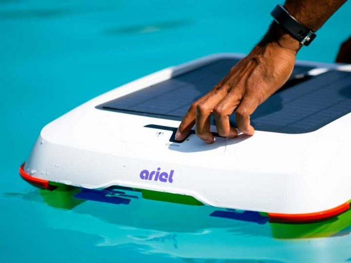 Novi cool pametni kućni uređaji: Ariel By Solar Breeze robot za čišćenje bazena