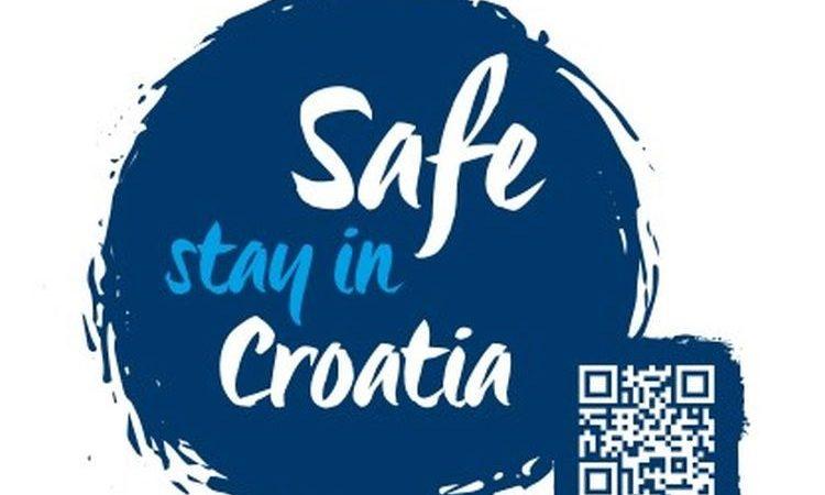 Protokol zaprimanja oznake sigurnosti Safe stay in Croatia