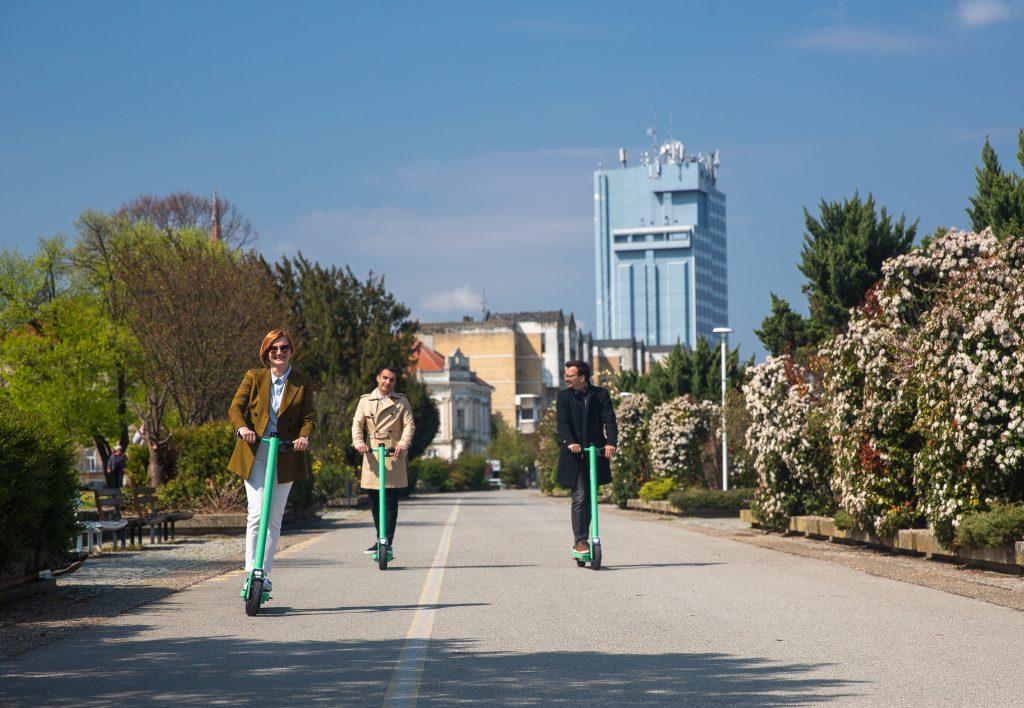 Eco-friendly Bolt električni romobili stigli u Osijek