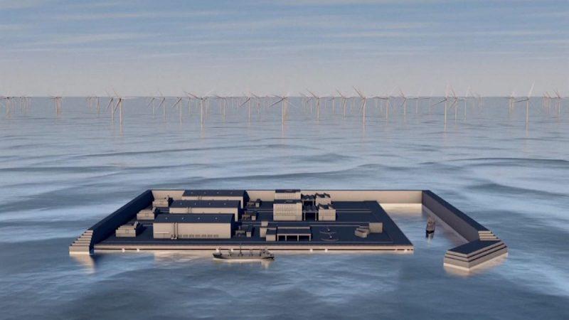 Danska gradi umjetni otok za priobalnu vjetroelektranu