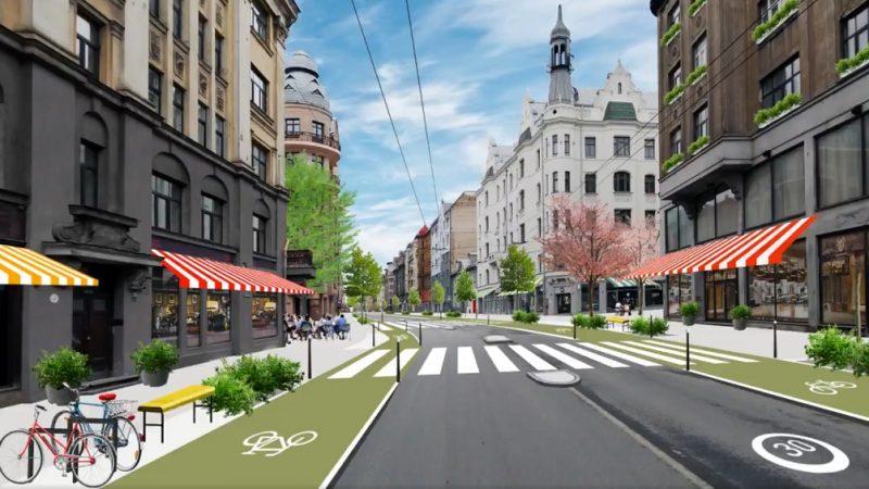 Svaka prometna gradska ulica može postati zelena oaza