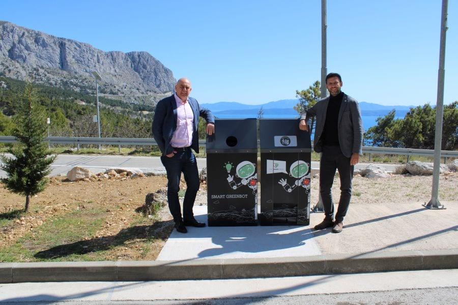 Pametni solarni spremnici za otpad u Parku prirode Biokovo