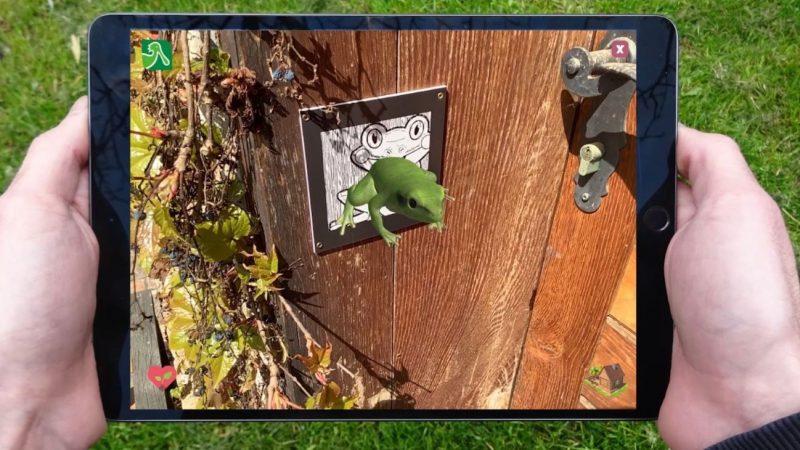 Pomoću igre proširene stvarnosti djeca upoznaju životinjski svijet Lonjskog polja