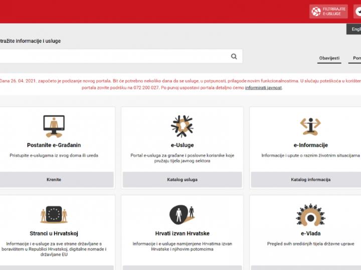 e-Građani na novom portalu: Informacije i usluge na jednom mjestu!