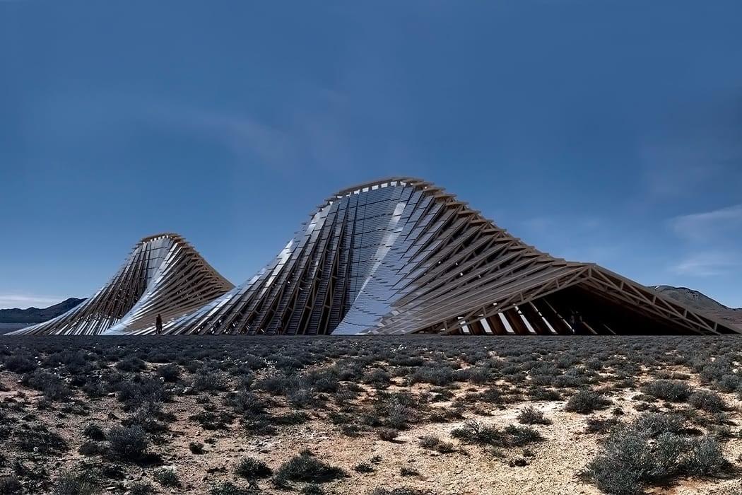 Ovakve  solarne planine mogle bi biti sastavni dio gradova budućnosti
