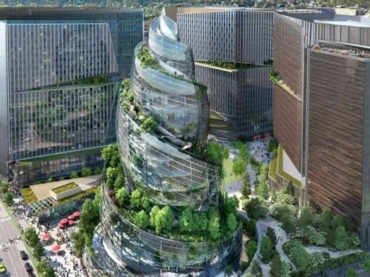 Nova upravna zgrada Amazona ujedinjuje znanost i prirodu u centru grada