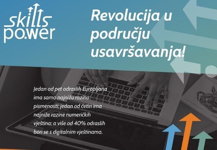 Pokrenut je Skills Power – Projekt koji donosi revoluciju usavršavanja i cjeloživotnog obrazovanja