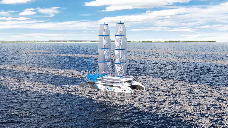 Predstavljen hibridni katamaran kojem je gorivo plutajuća plastika