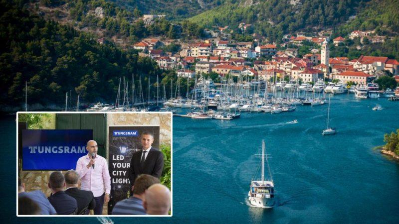Skradin je prvi grad u Hrvatskoj s pametnom LED rasvjetom