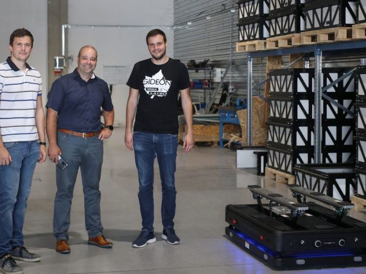Hrvatski 5G logistički robot Gideon Brothers