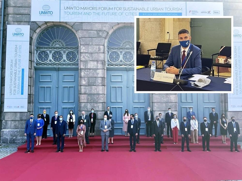 """Gradonačelnik Dubrovnika panelist na UNWTO konferenciji u Portu na temu """"Turizam i budućnost gradova"""""""