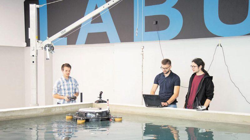 Razvoj podvodnih autonomnih vozila na FER-u