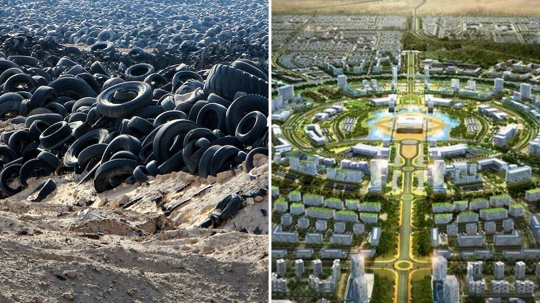 """Kuvajt svoje """"groblje guma"""" pretvara u novi zeleni pametni grad"""